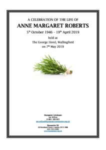 Anne Roberts Archive Tribute