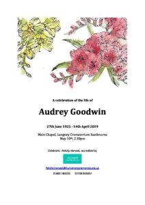 Audrey Goodwin Archive Tribute