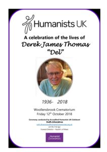 Derek 'Del' James Thomas Archive Tribute