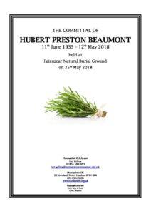 Hubert Beaumont Tribute