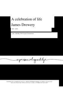 James Drewery Archive Tribute
