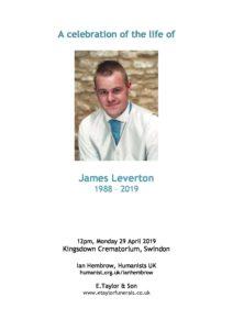James Leverton Archive Tribute