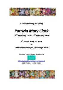 Patricia Clark Archive Tribute