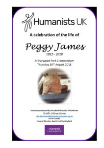 Peggy James Archive Tribute