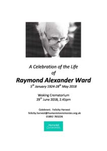 Ray Ward Archive Tribute