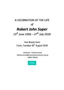 Robert Soper Archive Tribute