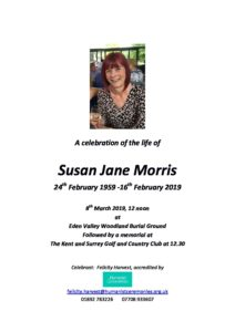 Susan Morris Archive Tribute