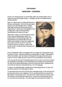 Thomas Gondris Archive Tribute 1