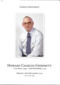 Howard Grimmett OOC