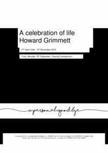 Howard Grimmett Tribute Archive