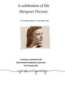 Margaret Parsons Archive PDF