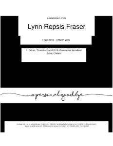 Lynn, Bill's Tribute