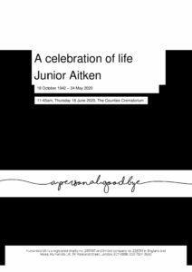Junior Aitken Tribute Archive