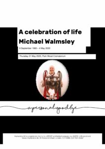 Michael Walmsley Tribute Archive