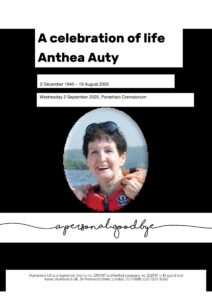 Anthea Auty archive submission