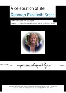 Deborah Elizabeth Smith Tribute Archive
