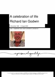 Richard Godwin Humanists UK archive tribute 1 September 2020