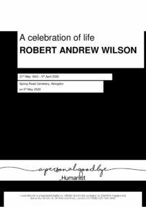 Robert Andrew 'Bob' Wilson Tribute Archive2