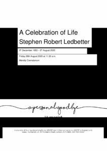 Stephen Robert Ledbetter Tribute Archive