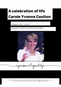 Carole Yvonne Caulton Tribute Archive