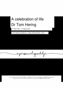 Thomas Frederick Hering Tribute Archive