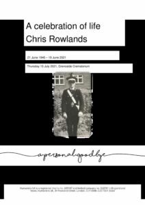 Christopher Rowlands Tribute Archive