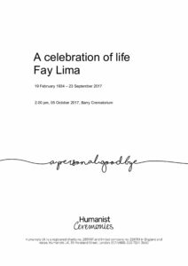Fay Lima Tribute Archive