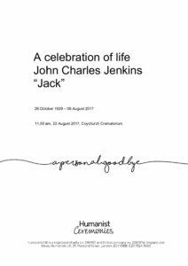 John Jenkins Tribute Archive