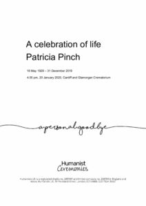 Pat Pinch Tribute Archive