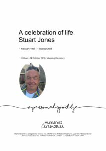 Stuart Jones Tribute Archive